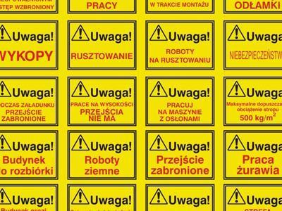 tablica ostrzegawcza 1